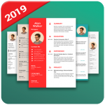 تحميل تطبيق CV Maker Resume Builder PDF Template Format Editor مجانا آخر إصدار
