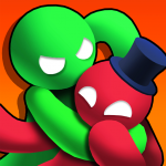 تحميل لعبة Noodleman.io – Fight Party Games مهكرة آخر اصدار