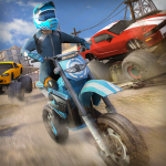 تحميل لعبة Free Motor Bike Racing – Fast Offroad Driving Game مهكرة آخر اصدار