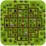 تحميل لعبة Strategy Coc Base Layout مهكرة آخر اصدار